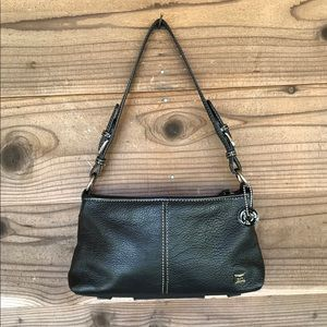The SAK Small Pebbled Leather Shoulder Hobo Purse